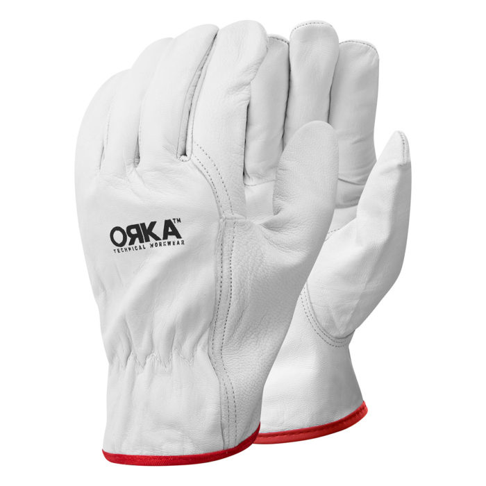 00 2906 0 10 ORKA PREMIUM LINED DRIVERS GLOVES Front copy