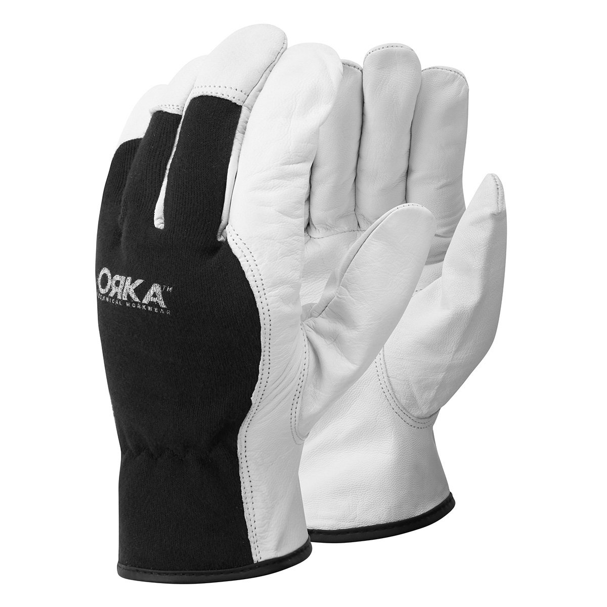 00 2949 0 10 ORKA WHITE UNLINED DRIVERS GLOVE WHITE Front copy