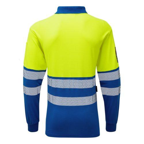 Haztec FR/AS Hi-Vis Polo Shirt 210 gsm