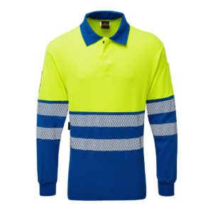 Haztec FR/AS Hi-Vis Polo Shirt 210 gsm