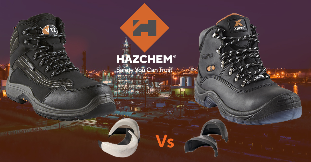 Composite Steel Toe Caps vs Steel Toe Caps