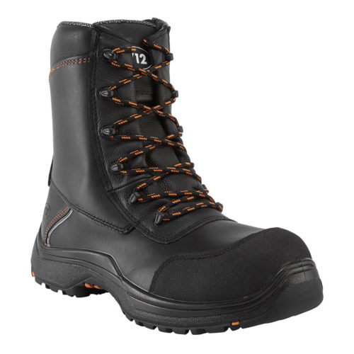 V12 Defiant High Leg Zip Side Safety Boot