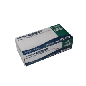 GL8920 Accelerator Free Blue Nitrile Disposable Gloves, Box of 100