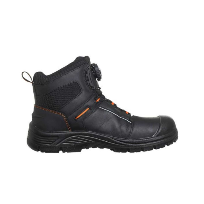 SF7825 Helly Hansen Alna BOA® Mid Height Safety Boot Side View 2