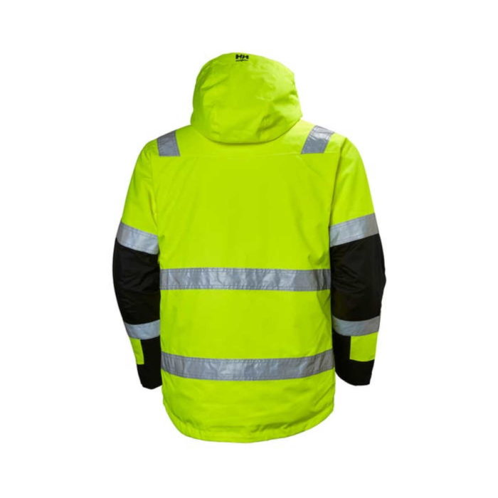 HV7139 Helly Hansen Alna Winter Hi-Vis Jacket Back