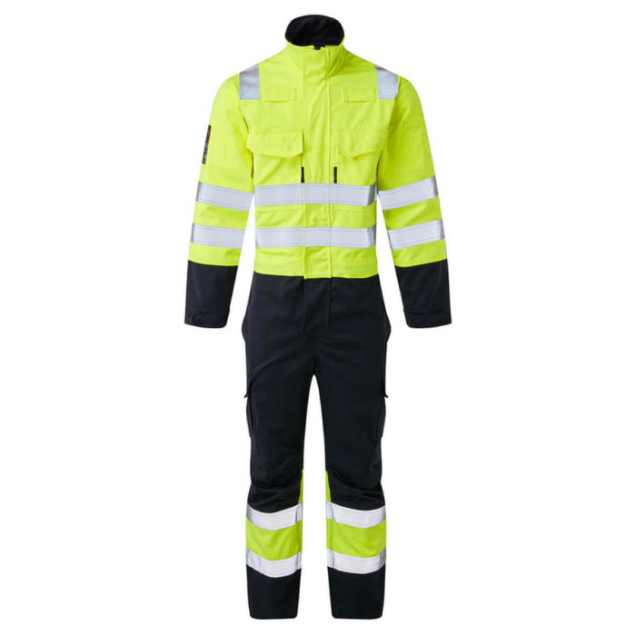 HAZTEC® Nemba Flame Resistant Anti-Static Inherent ARC Coverall Two Tone