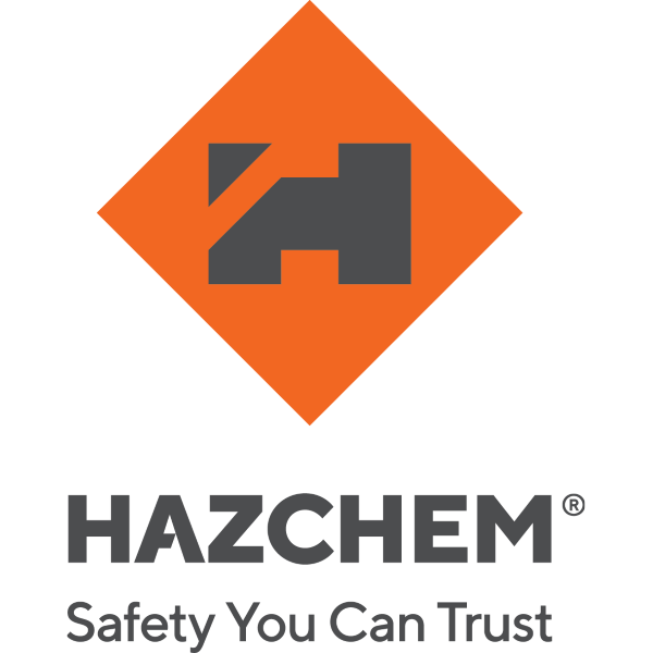 Hazchem Stacked_Logo_Orange-Grey+strap