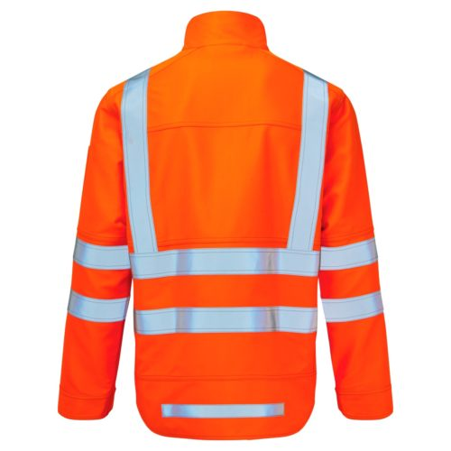 AS1000 HAZTEC Mercury FR AS Hi-Vis ARC Jacket_Back