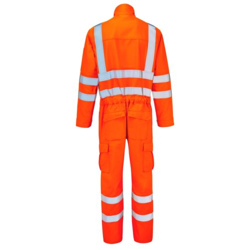 HAZTEC Mimas FR AS Hi-Vis ARC Coverall_Back