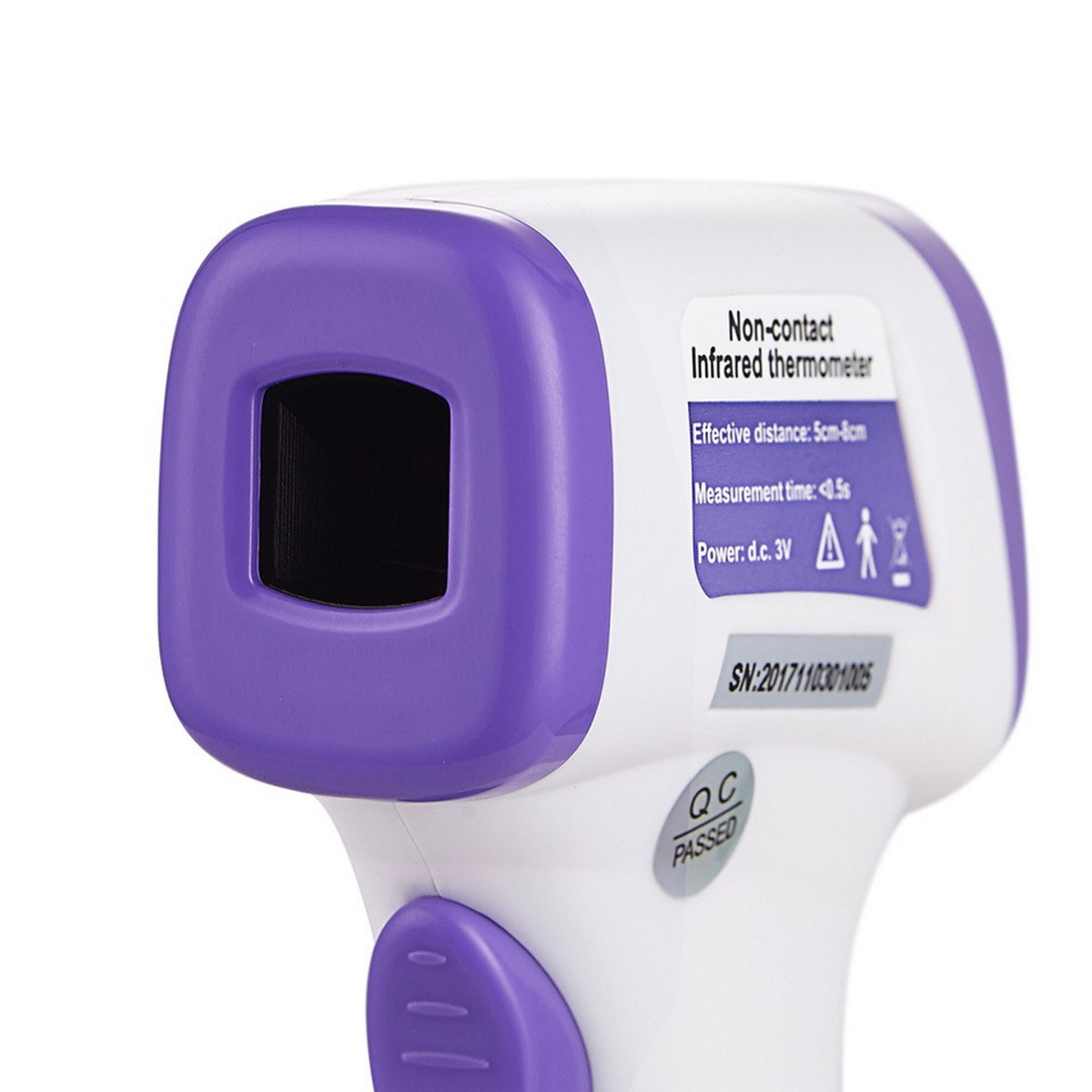 FA0125 Digital Infrared Thermometer_Front