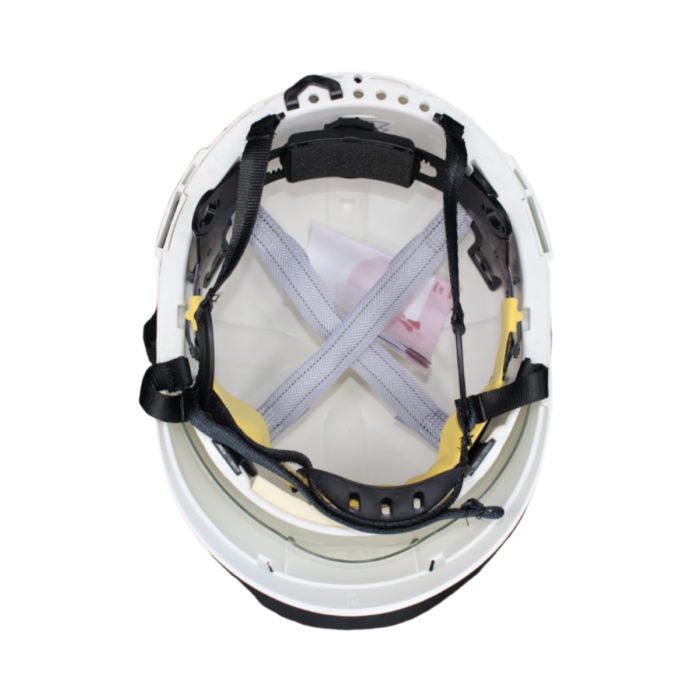 HF0500-IDRA Safety Helmet with Integrated Anti-Mist Face Visor