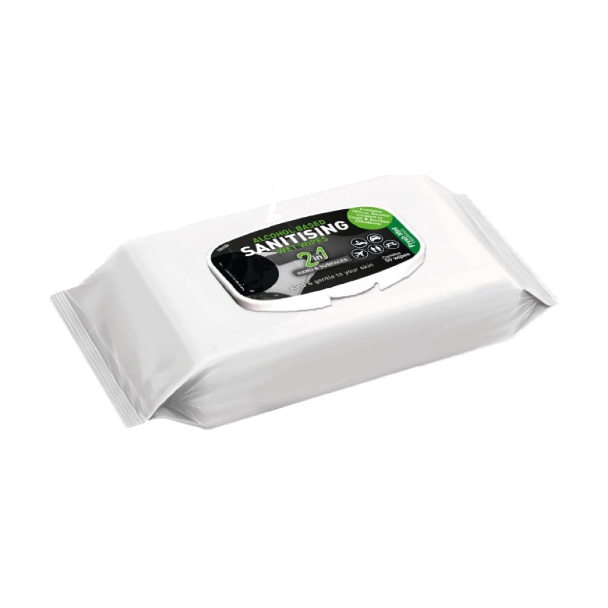 JP0050-Pack of 50 Alcohol Wipes