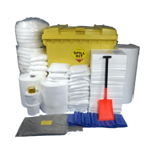 SC1230 Oil Absorbent Spill Kit in Bin, 1100 Litres