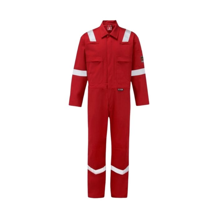 AS7335 ORKA Tropic II Lightweight FR AS Coverall - Red