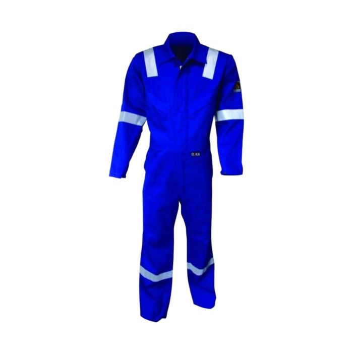 AS7335 ORKA Tropic II Lightweight FR AS Coverall - Royal Blue