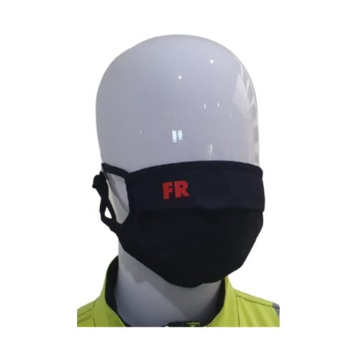 FR0055 Antiviral, Flame Retardant Washable Face Mask - Front