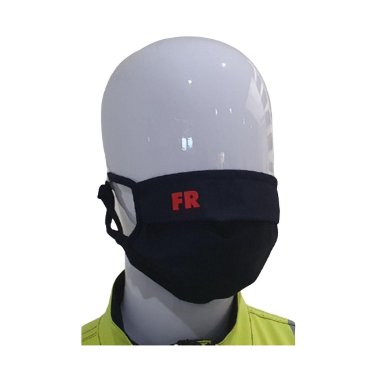 FR0055 Antiviral, Flame Retardant Washable Face Mask - Front