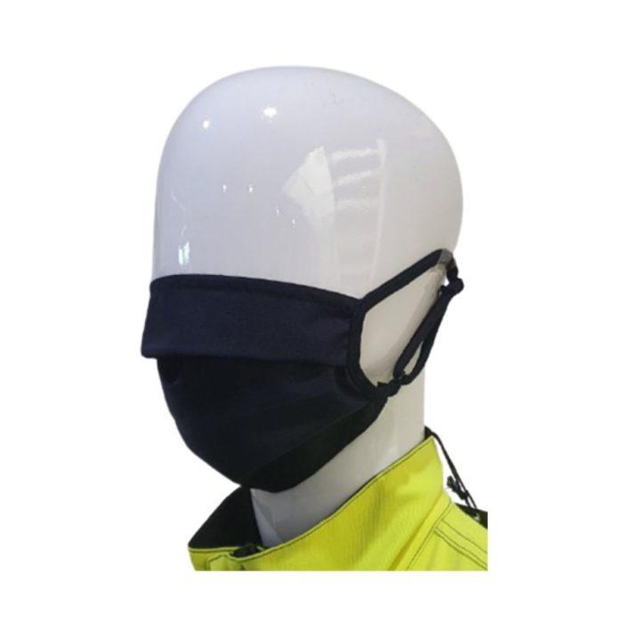 FR0055 Antiviral, Flame Retardant Washable Face Mask - Side