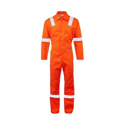 FR7344 ORKA Fabricator FR AS Coverall - Orange