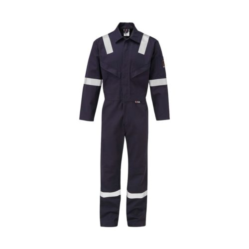 FR7344 ORKA Fabricator FR AS Coverall - Navy