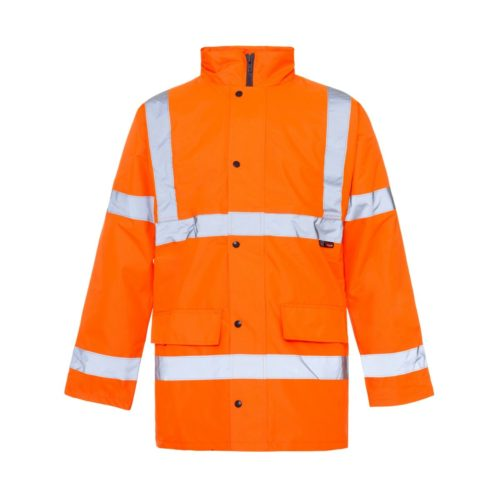 HV0007 Hi-Vis Highway Traffic Jacket - Orange