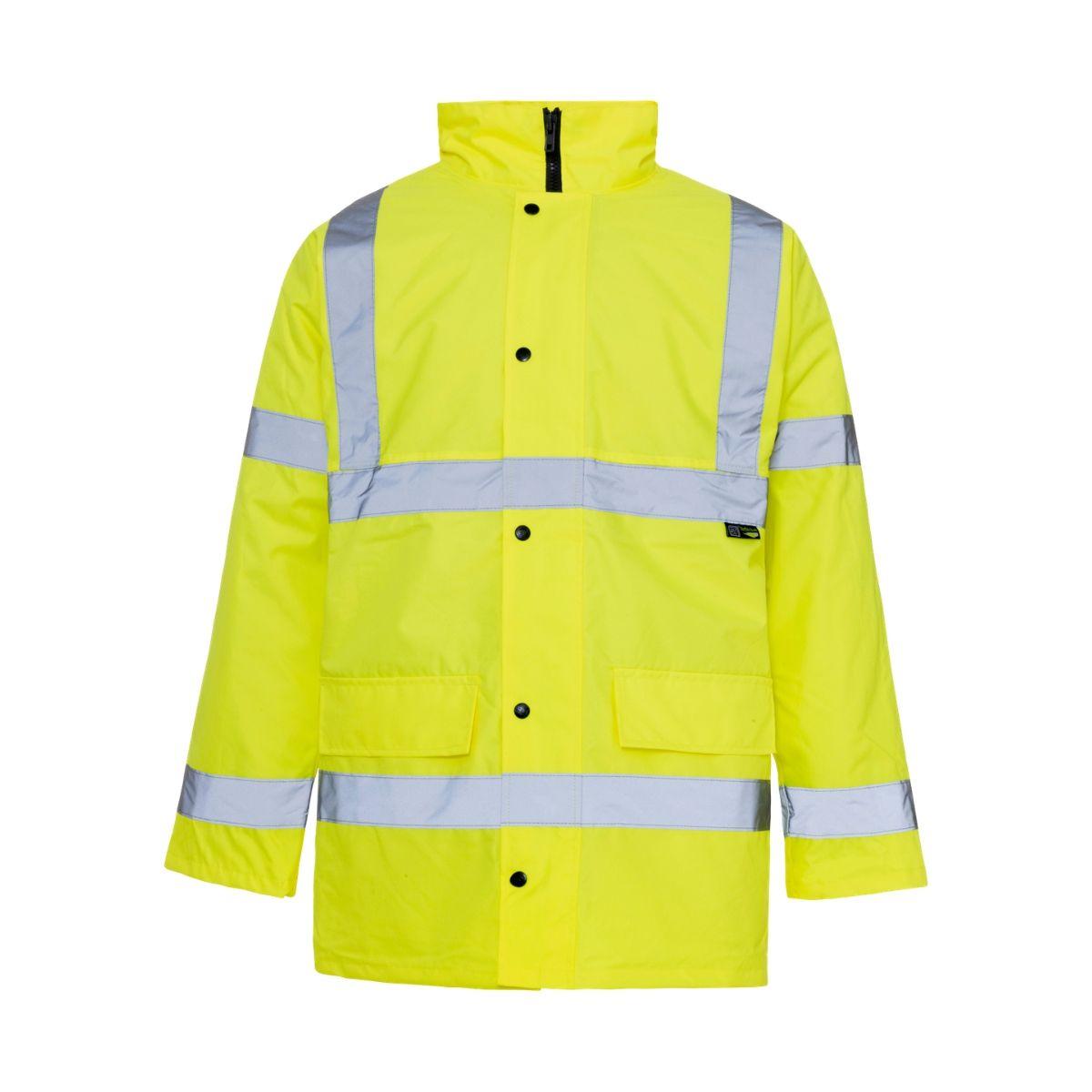HV0007 Hi-Vis Highway Traffic Jacket - Yellow