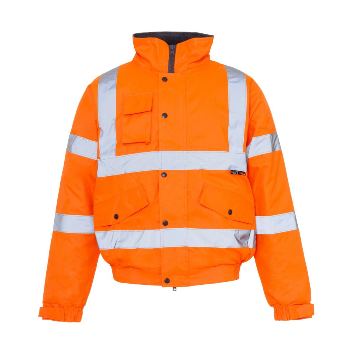 HV0071 Hi-Vis Highway Bomber Jacket - Orange