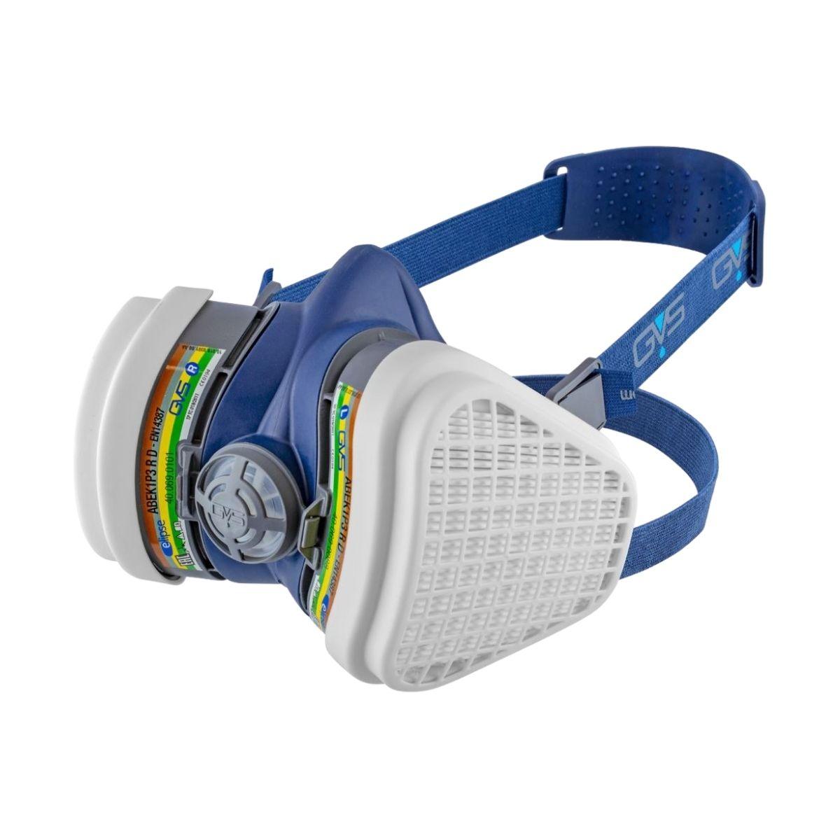 RP0021 Elipse Low Profile Half Mask c_w ABEK1-P3 RD Filters