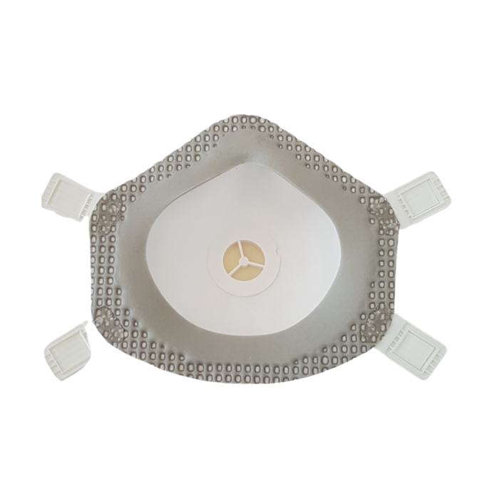 RP0086_Air 3000 P3 Valved Moulded Cup Mask_back
