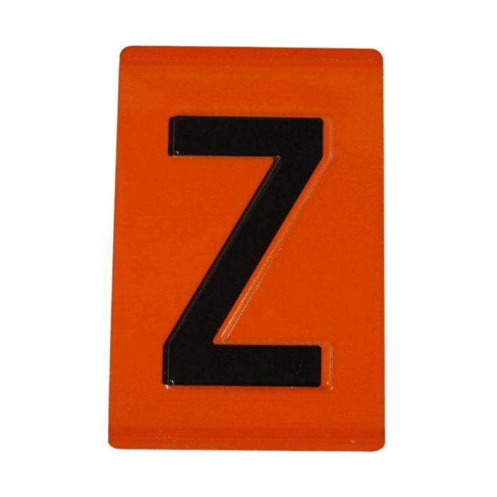 VS2260 Hazchem Embossed ADR Individual Digits & Letters
