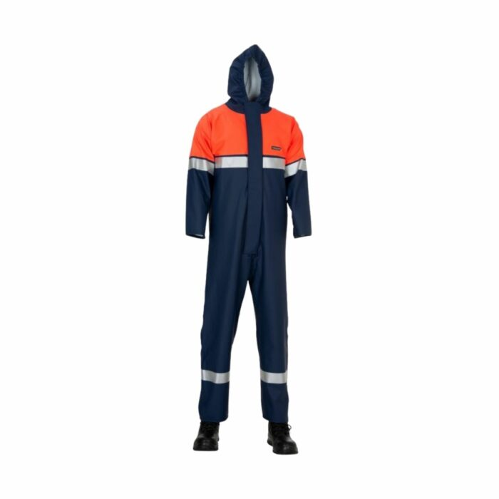 AS2133 HAZTEC Zakum FR AS Chemsol Plus Suit with Double Elasticated Wrists
