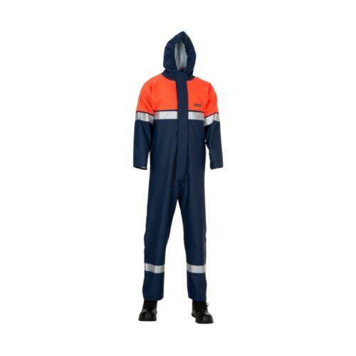 AS2134 HAZTEC Zakum FR AS Chemsol Plus Suit with Double Elasticated Wrists