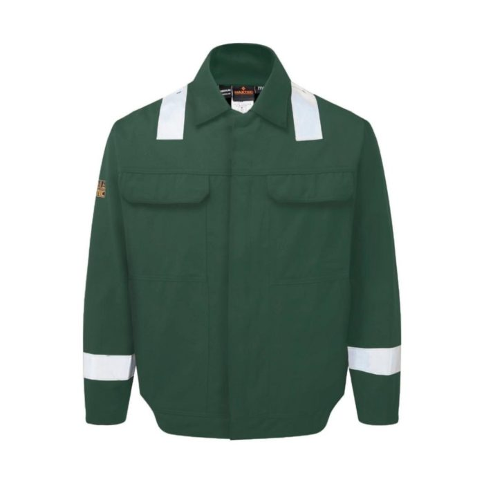 AS2313 HAZTEC® Sidra FR AS Inherent Driver Jacket - Green