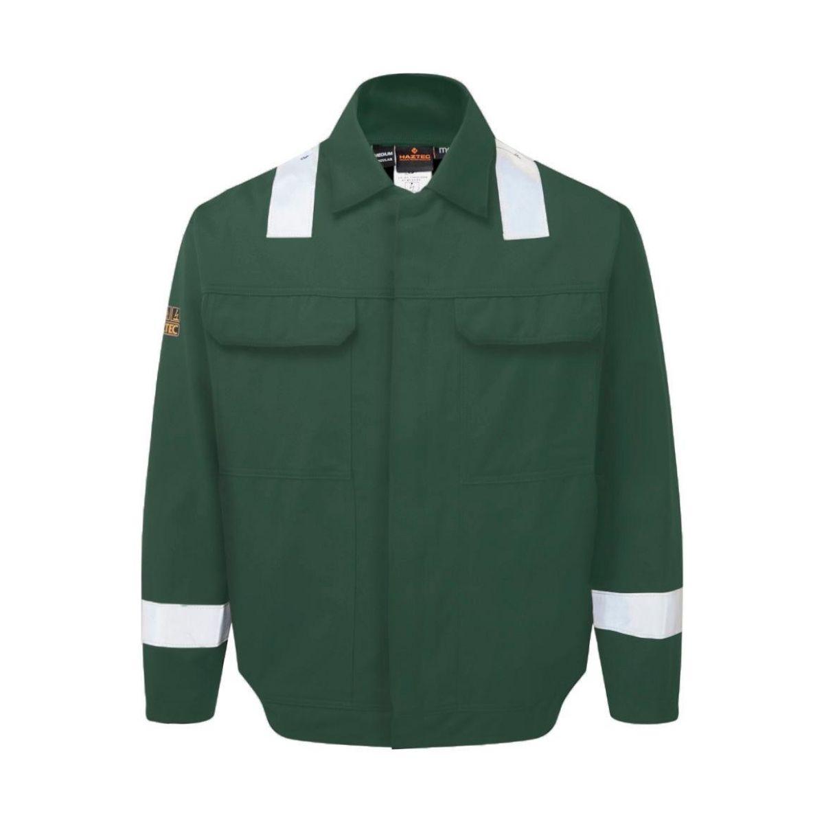 AS2313 HAZTEC® Sidra FR AS Inherent Driver Jacket - Green