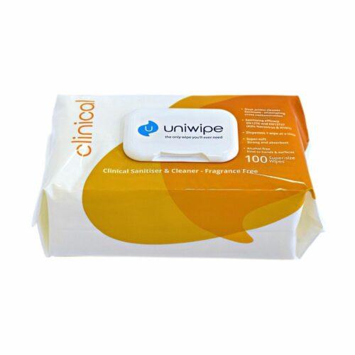 CC5833 Uniwipe Clinical Sanitising Wipes