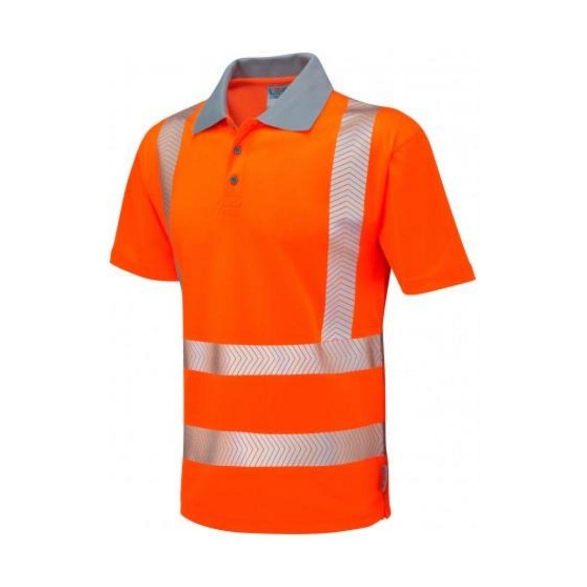 HV0046 Woolacombe Coolvis Plus Poloshirt - Orange