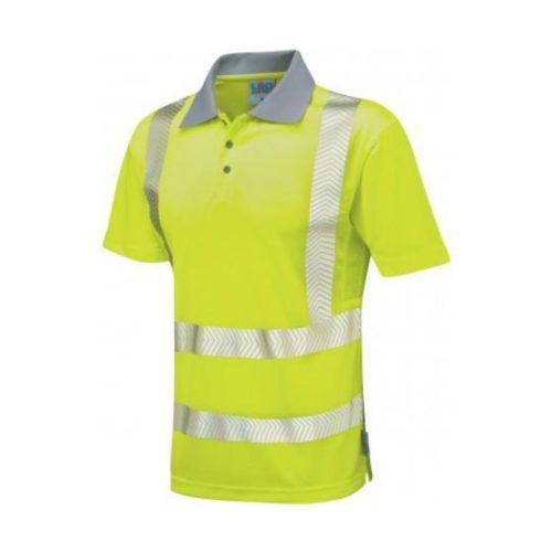 HV0046 Woolacombe Coolvis Plus Poloshirt - Yellow