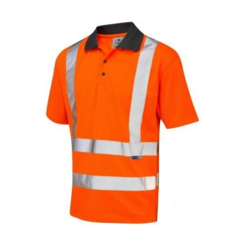 HV5000 Hi-Vis Polo Shirt Polycotton 175gsm - Orange