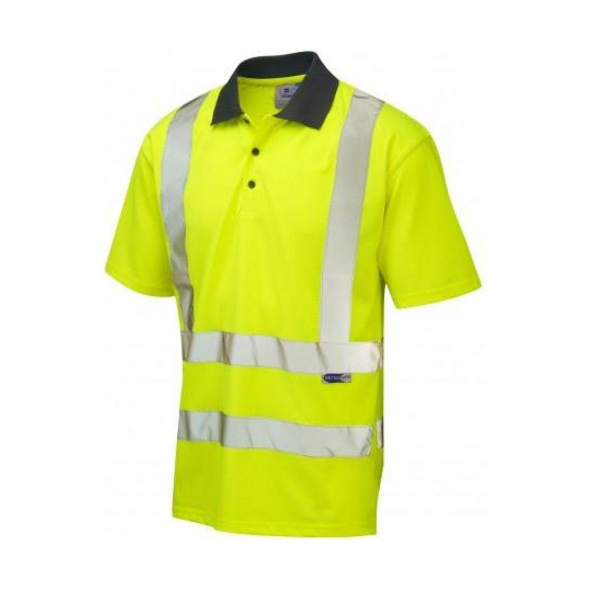 HV5000 Hi-Vis Polo Shirt Polycotton 175gsm - Yellow