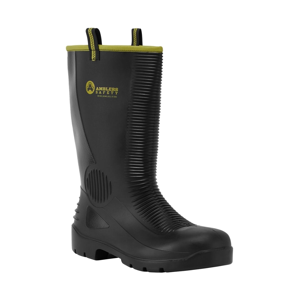 SF0008 PVC_Nitrile Safety Rigger Boot