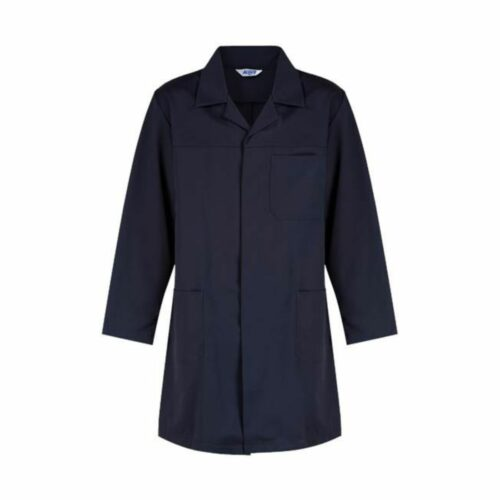 AS2280 HAZTEC® Boyle FR AS Lab Coat - Navy