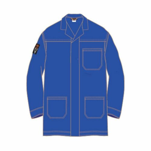 AS2280 HAZTEC® Boyle FR AS Lab Coat - Royal Blue