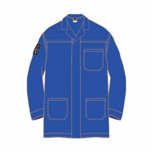 AS2280 HAZTEC® Boyle FR AS Lab Coat - Royal Blue