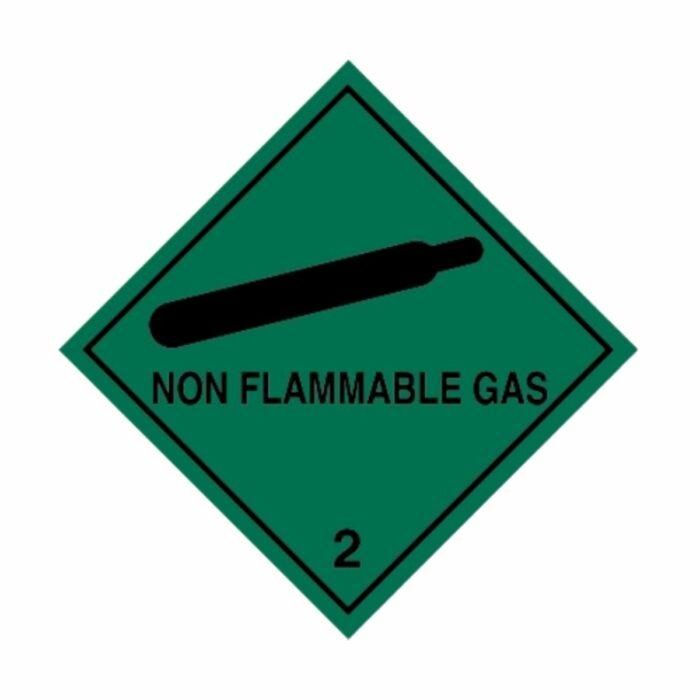 HD1211 UN Hazard Warning Diamond Class 2 Non-Flammable Gas