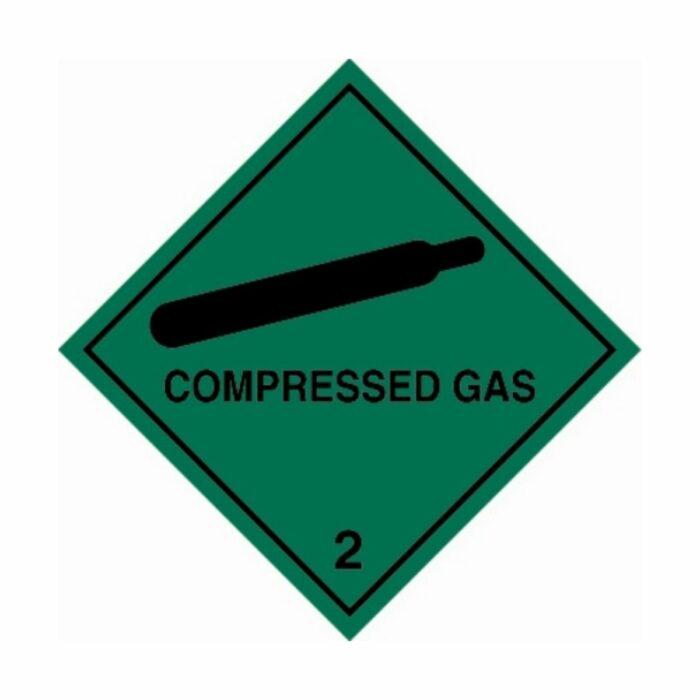 HD1213 UN Hazard Warning Diamond Class 2 Compressed Gas