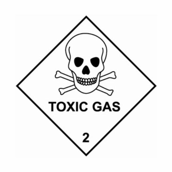 HD1220 UN Hazard Warning Diamond Class 2 Toxic Gas