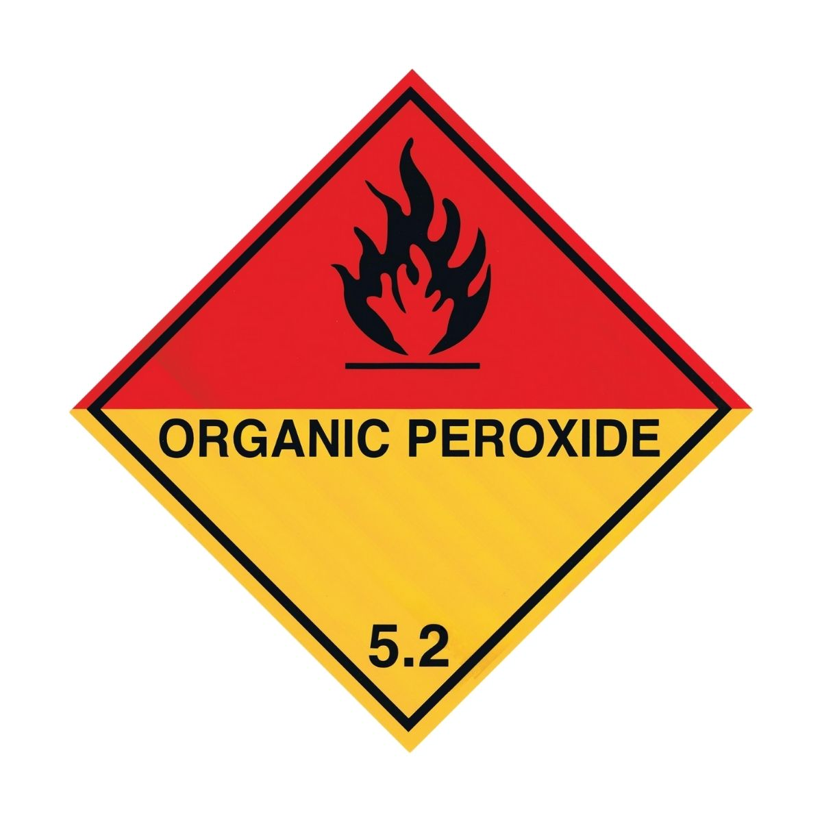 HD1511 UN Hazard Warning Diamond Class 5.2 Organic Peroxide