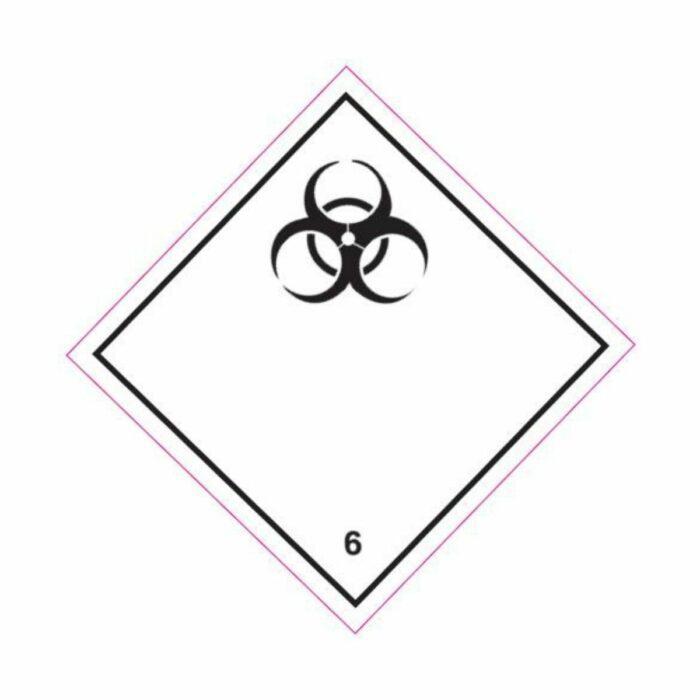 HD1610 UN Hazard Warning Diamond Class 6.2 Infectious Substances