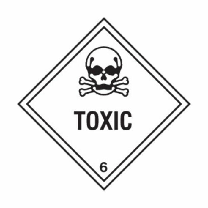 HD1611 UN Hazard Warning Diamond Class 6.1 Toxic