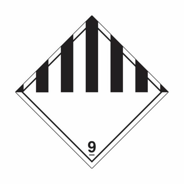 HD1910 Hazard Warning Diamond Class 9 Miscellaneous